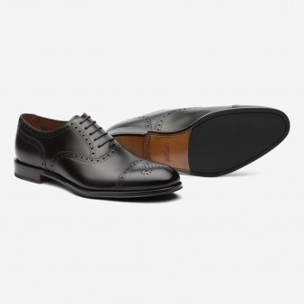 HALF BROGUE OXFORD
