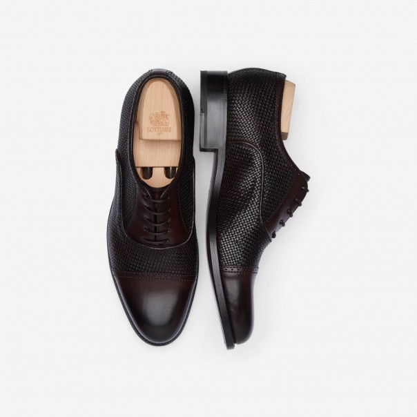 HALF BROGUE BLUCHER